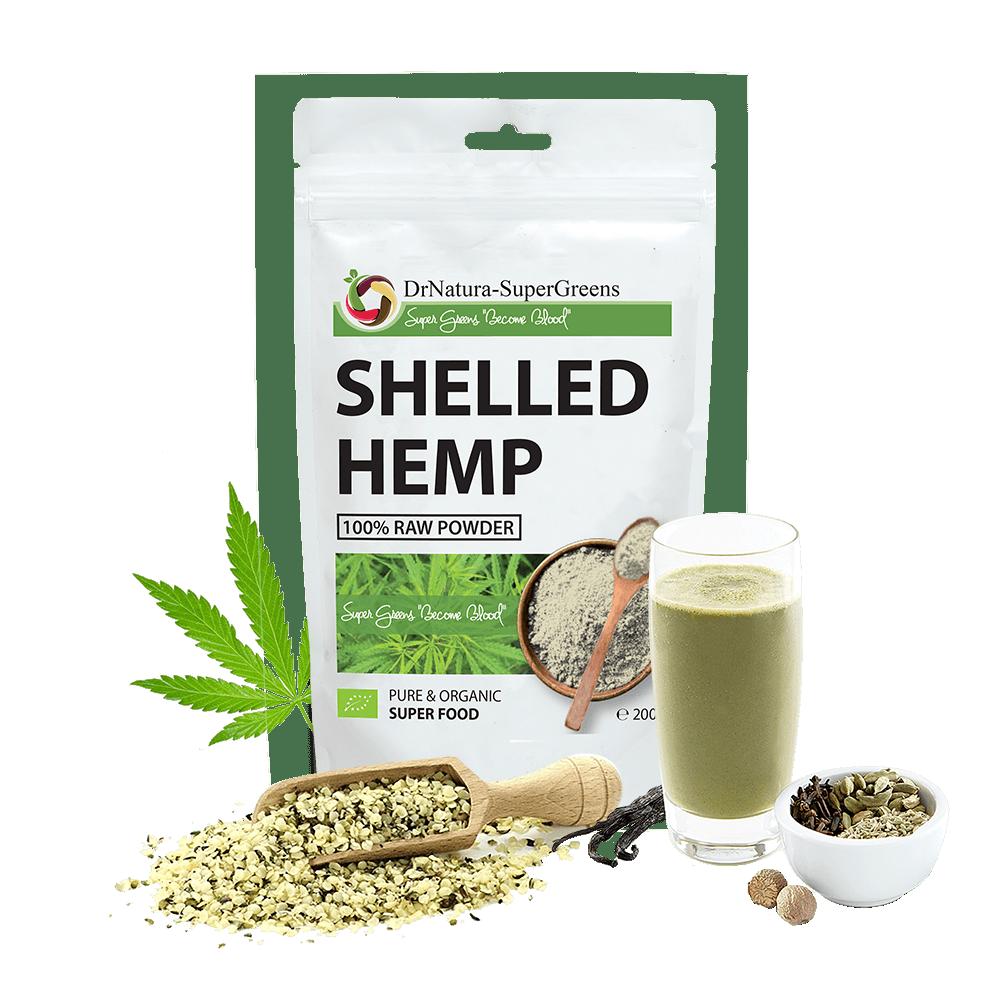 Hemp flour (vegan protein) BIO