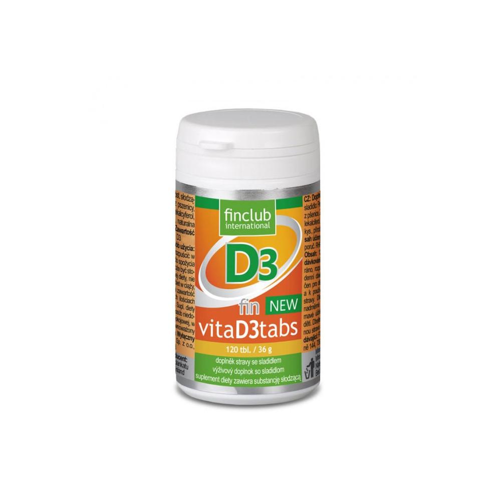 VitaD3tabs NEW - vitamín D3