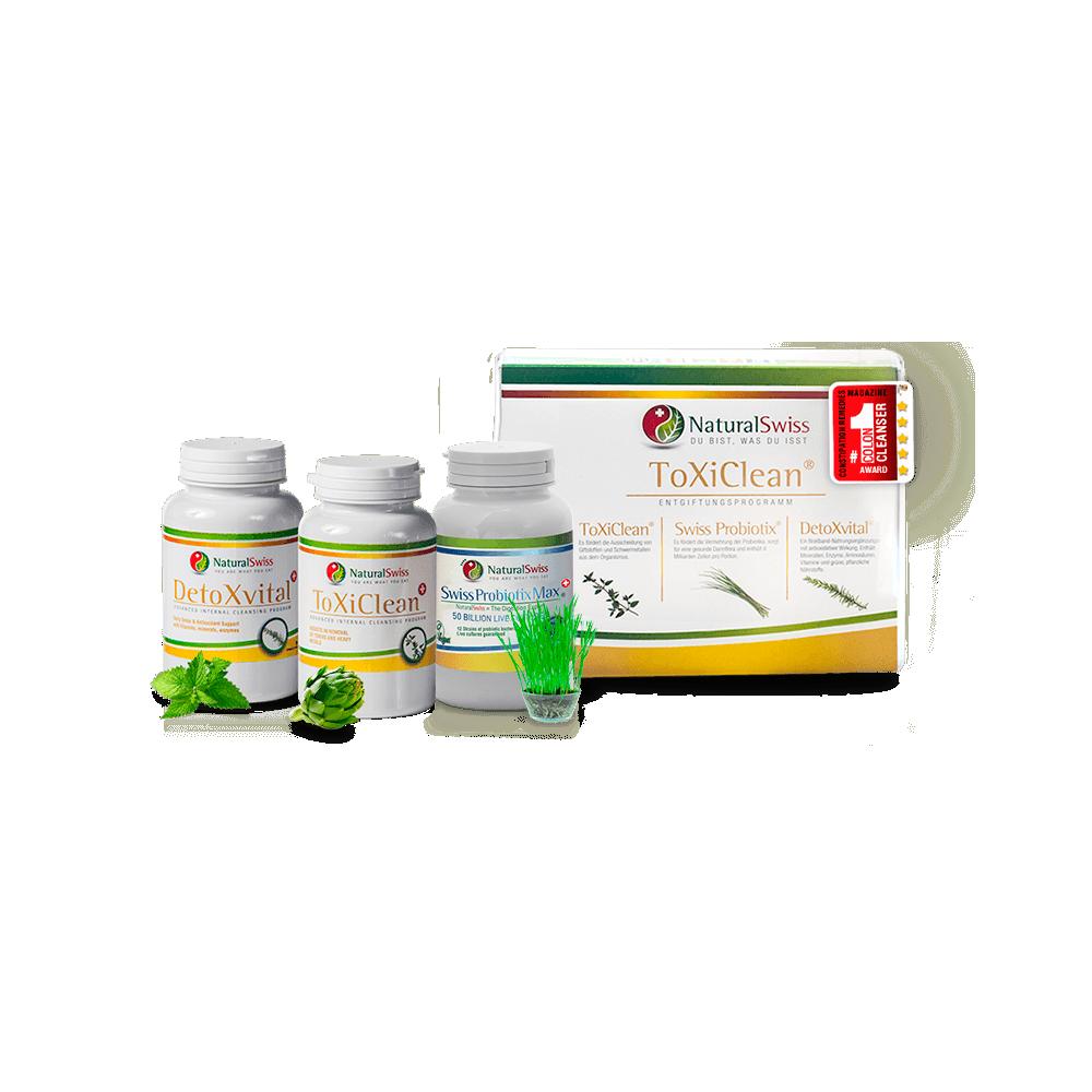 Toxi Clean program - detoxification of the body