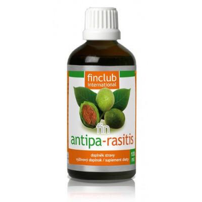 Antipa-racitis (with alcohol)