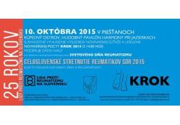 Reuma Gél na Celovenskom stretnutí reumatikov SDR 2015